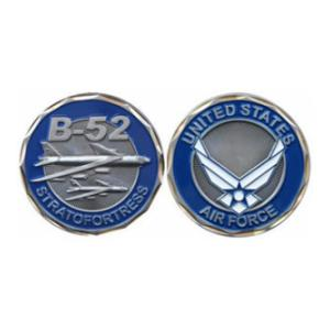 Air Force B-52 Stratofortress Challenge Coin