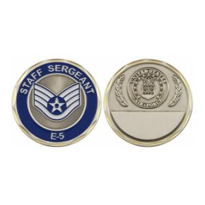 Air Force Staff Sergeant Challenge Coin