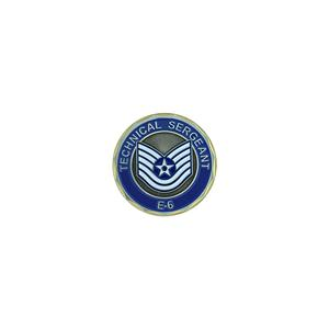 Air Force Technical Sergeant Challenge Coin