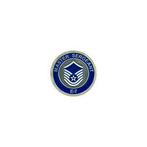 Air Force Master Sergeant Challenge Coin