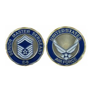 Air Force Senior Master Sergeant Challenge Coin