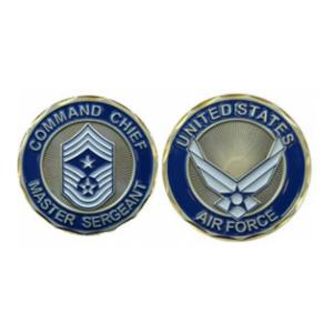 Air Force Command Chief Master Sergeant Challenge Coin