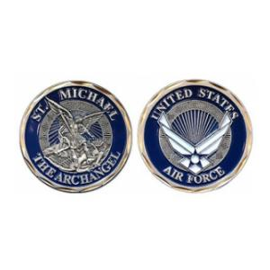 Air Force St. Michael Challenge Coin