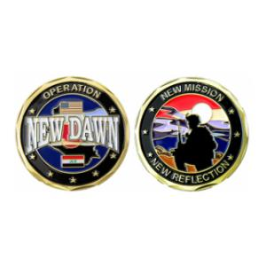 Operation New Dawn Challenge Coin