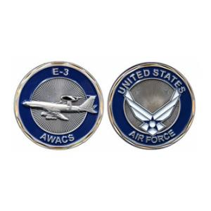 Air Force E-3 AWACS Challenge Coin