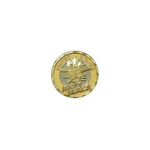 Navy Seals Gold Challenge Coin