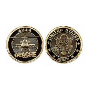 Army AH-64  Apache Challenge Coin