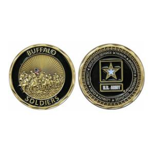 Army Buffalo Soldiers Challenge Coin