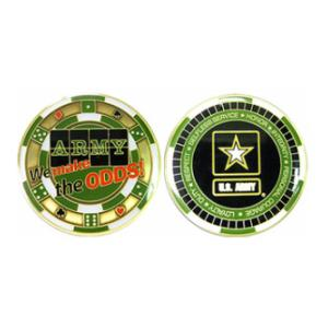 Army Casino Challenge Coin