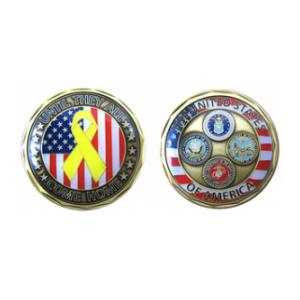Until They All Come Home Challenge Coin