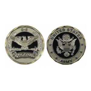 Army Colonel Challenge Coin