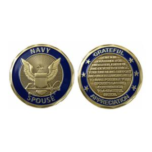 Navy Spouse Challenge Coin