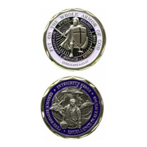 Airman Armor Of God Challenge Coin