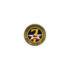 7th Air Force Challenge Coin