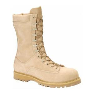 "10"" Matterhorn Waterproof Desert Tan Leather Insulated Field Boot w/ Safety Toe"