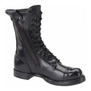 "10"" Corcoran Leather Side Zipper Jump Boot (Black)"