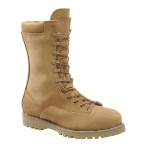 "10"" Corcoran Olive Mojave Roughout Insulated Safety Toe Boot"