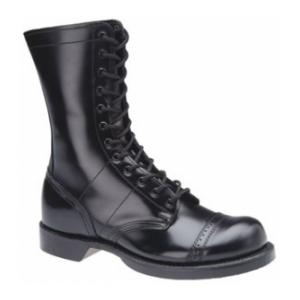 "10"" Corcoran Leather jump Boot with Lightweight Outsole (Black)"