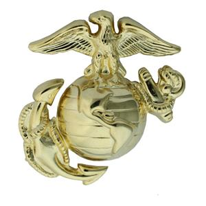 Marine Corps Enlisted Cap Badge