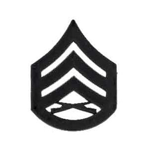 Marine Corps Staff Sergeant (Metal Chevron) (Subdued)
