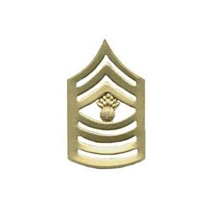 Marine Corps Master Gunnery Sergeant (Metal Chevron) (Dress)