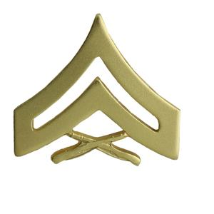 Marine Corps Corporal (Metal Chevron) (Dress)