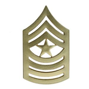 Marine Corps Sergeant Major (Metal Chevron) (Dress)