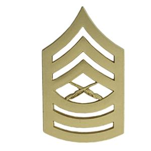 Marine Corps Master Sergeant (Metal Chevron) (Dress)