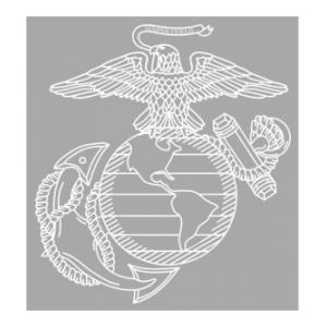 US Marines Eagle Globe and Anchor Vinyl Transfer