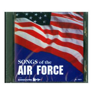 Songs of the Air Force CD