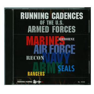 Armed Forces Running CD