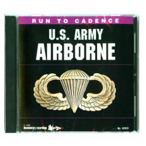 Army Airborne Running CD (Vol. 1)