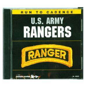 Army Rangers Running CD
