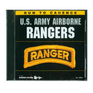 Army Airborne Rangers Running CD (Vol. 1)