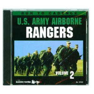 Army Airborne Rangers Running CD (Vol. 2)