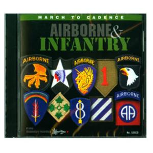 Airborne Infantry Marching CD