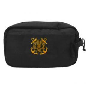 Coast Guard Shaving Kit Bag (Black)