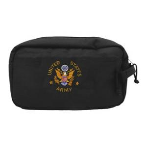 Army Shaving Kit Bag Black Eagle Flying Tigers Surplus