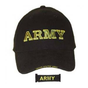 Army Extreme Embroidery Cap with Lettering Only