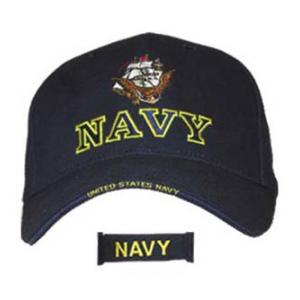 Navy Extreme Embroidery Cap with Logo