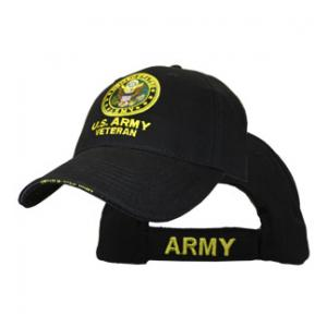 Army Extreme Embroidery Veteran Cap with Logo