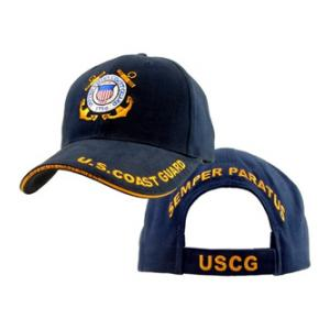 Coast Guard Logo Cap (Dark Navy)