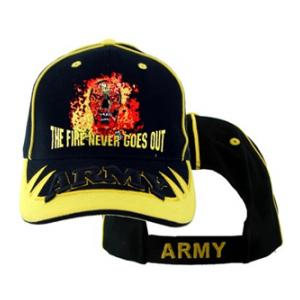 U.S. Army The Fire Never Goes Out Cap
