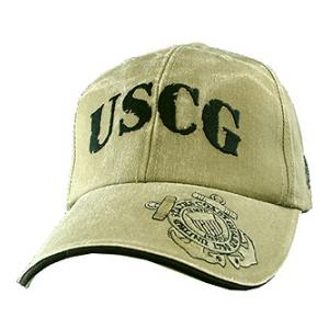 Coast Guard USCG Cap (Khaki)