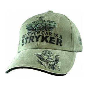 My Other Car is a Stryker Extreme Embroidery Cap (Olive Drab)