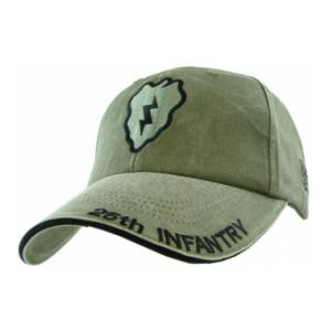 25th Infantry Extreme Embroidery Cap (Olive Drab)
