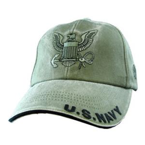 US Navy Logo Cap (OD Green)