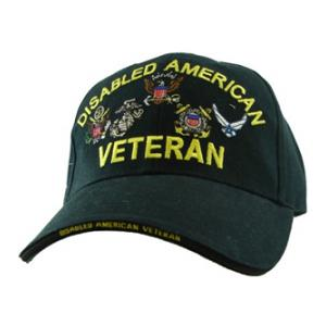 Disabled American Veteran Cap (Black)