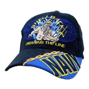 US Navy Shellback Cap (Dark Navy)