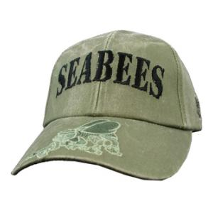 Navy Seabees Cap (OD Green)
